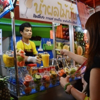 Bamee and Fruit Shakes on Soi 38